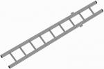 Mentö szabályozható létra - alsó része 2,6 m