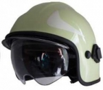 Calisia - sisakrendszer AK/ 10 védöszemüveggel - zöld , sisakcsík - arany színü