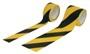 Figyelmeztetö öntapadós szalag - fekete / sárga